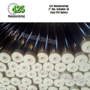 "2"" Dia. Schedule 40 Clear PVC Rollers"