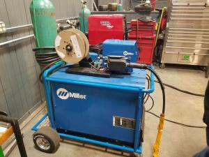 Custom Miller Weld Cart Finished