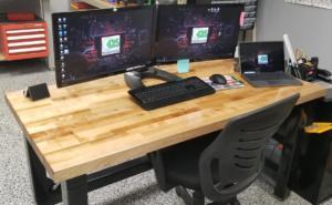 Custom Steel Desk