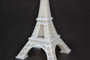 3D Printed Eiffel Tower