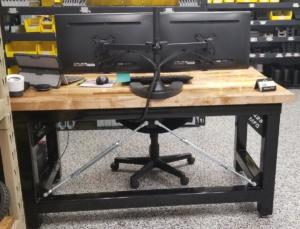 Fabricated Industrial Desk