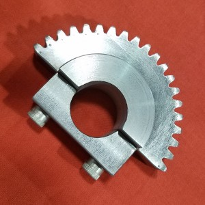 Half Gear and Clamp Block