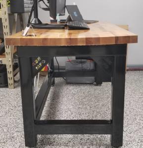 Heavy Duty Steel Desk