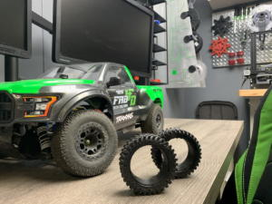 3D Printed Tires for our Traxxas Slash