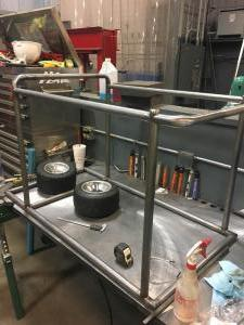In Process Miller Weld Cart