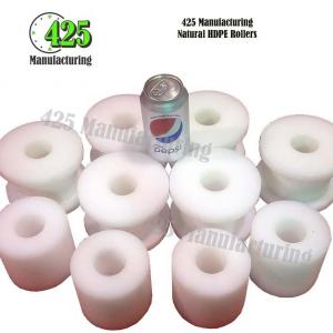 Natural HDPE Rollers