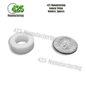 Natural Teflon Washers, Spacers