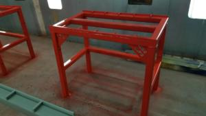 Paint Booth Welding Tables