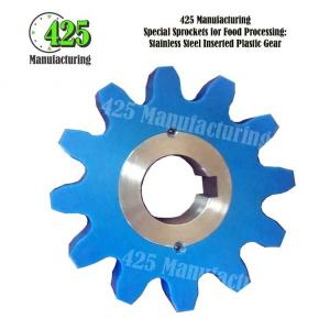 Stainless Steel Inserted Plastic Gear