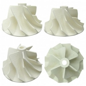 3D Printed Turbine Blades